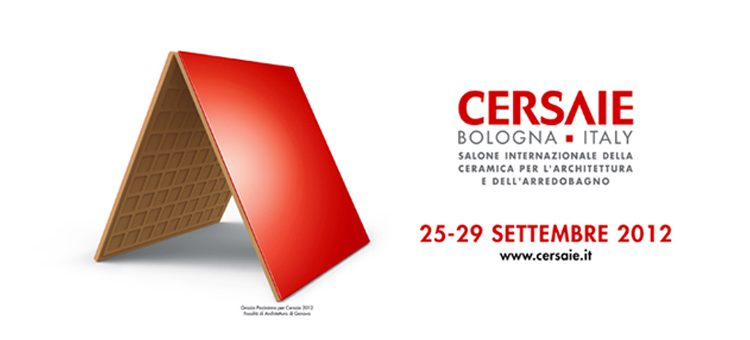 Carrelage salon Cersaie 2012