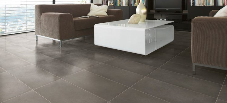 Carrelage imitation marbre noir