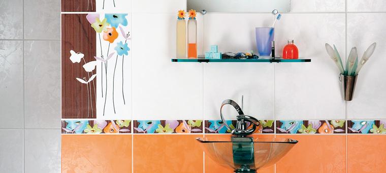 R novation salle de bains quelle fa ence choisir - Frise carrelage salle de bain ...