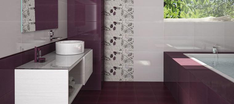 Poser du carrelage sur une baignoire blog carrelage for Carrelage mauve salle bain