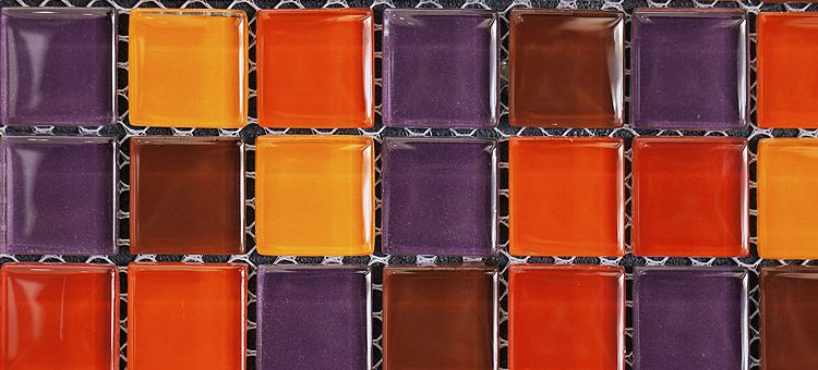 Carrelage mosaïque de verre