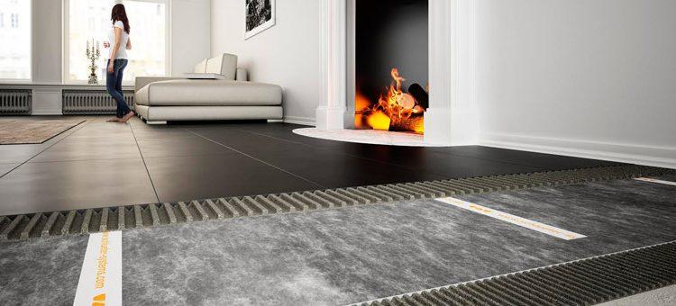 Solution rénovation intérieure : isolation acoustique sous carrelage faible épaisseur Schlüter®-DITRA-SOUND