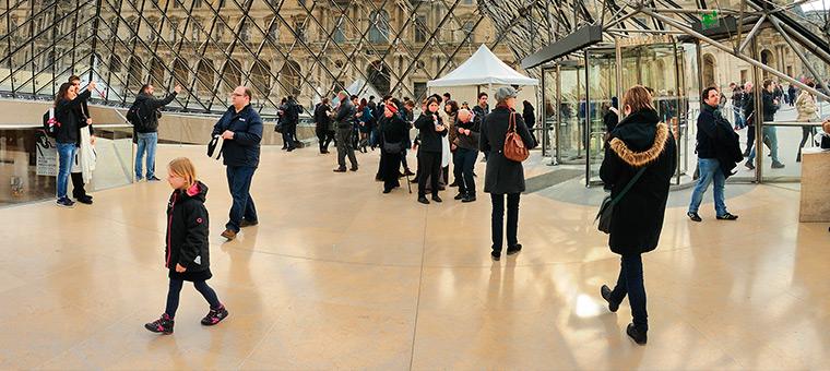 carrelage Musée du Louvre