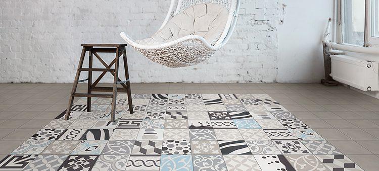 le carrelage patchwork super tendance blog carrelage. Black Bedroom Furniture Sets. Home Design Ideas