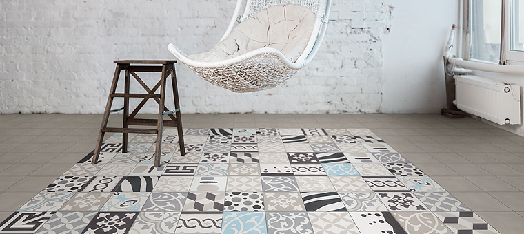Le carrelage patchwork super tendance blog carrelage for Carrelage tendance