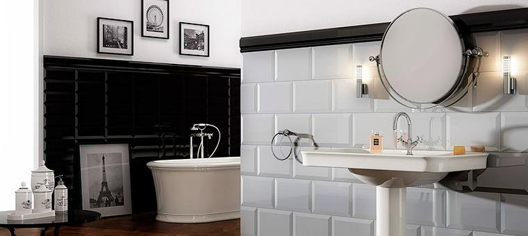 Carrelage Métro Dans La Salle De Bains Style Garanti Blog - Carrelage metro salle de bain