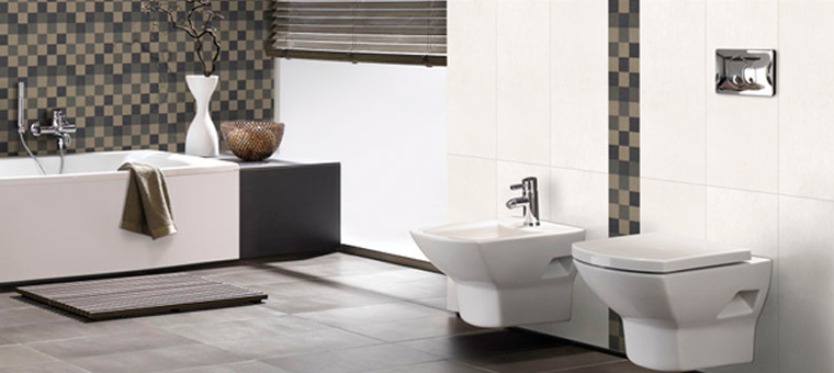 Emejing idee deco wc carrelage ideas awesome interior for Modele de carrelage pour wc