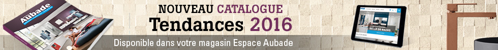 Nouveau catalogue Espace Aubade 2016