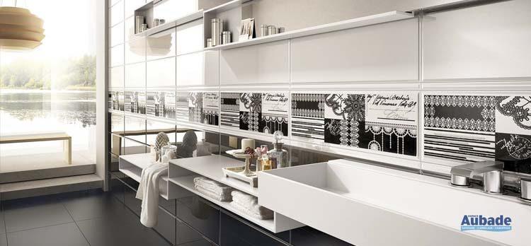 Utilisation du carrelage dans la salle de bains