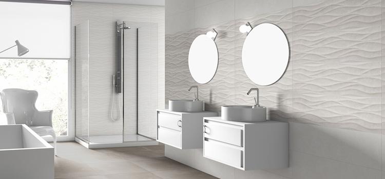 Quel carrelage choisir pour votre douche blog carrelage - Faience salle de bain blanche ...