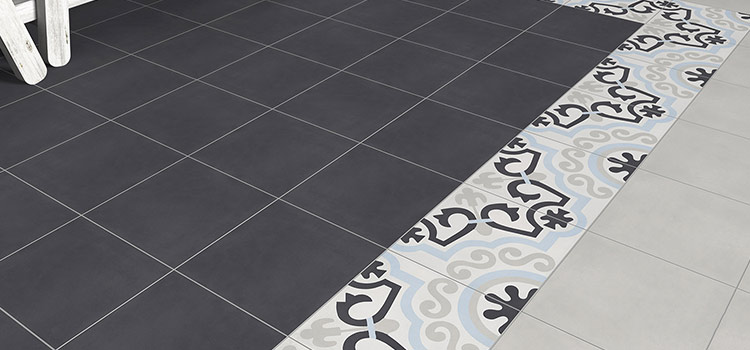 Carrelage contemporain BATI ORIENT collection carreaux de ciment