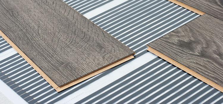 plancher chauffant imitation parquet