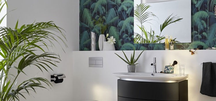 Papier peint WC jungle