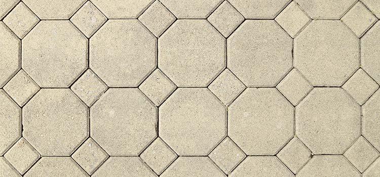 carrelage octogonal au sol