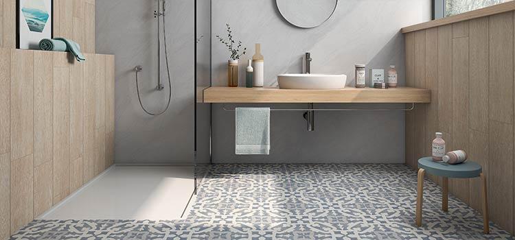 Carrelage azulejo salle d'eau