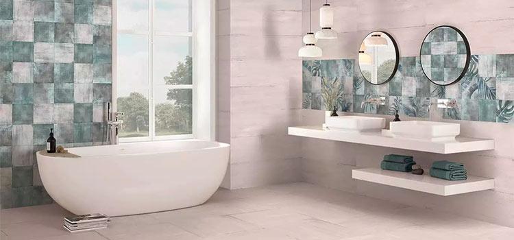 carrelage mosaïque salle de bains