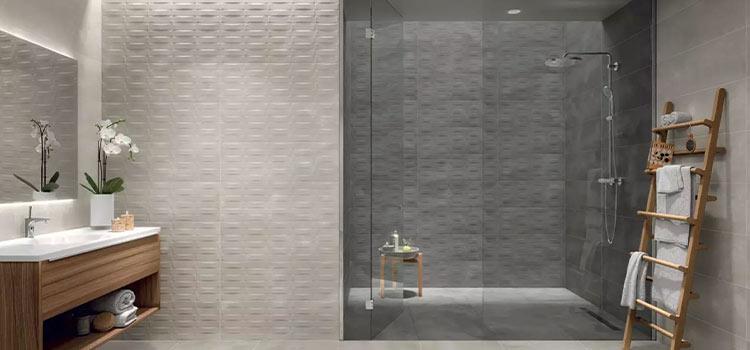 carrelage mosaïque de salle de bains